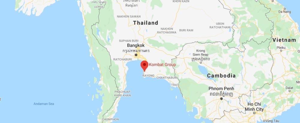 Kombat Group Thailand Map